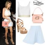 Taylor Swift leaving Katsuya Hollywood. June 10th, 2015 - photo: AKM-GSI