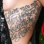 Ali Krieger Tattoos