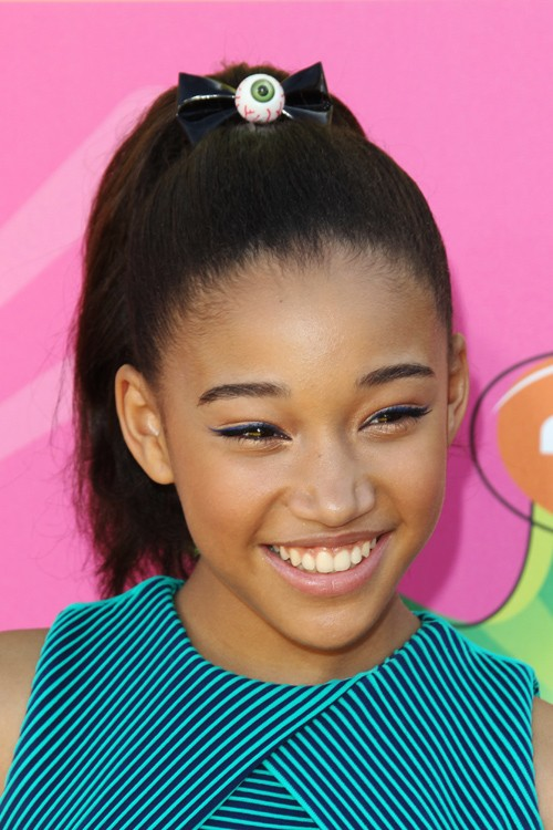 Amandla Stenberg Clothes Amp Outfits Steal Her Style