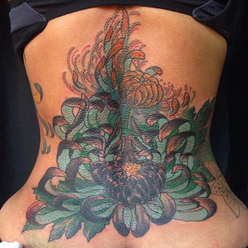 100 lower back coverup tattoos tattoo 14 beautiful for The girl with the lower back tattoo review