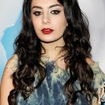 Charli XCX performs during a Rock in Rio USA press conference