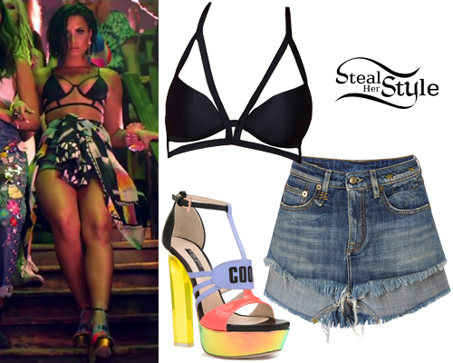 Demi Lovato u0026quot;Cool For The Summeru0026quot; Outfits | Steal Her Style