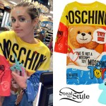 Miley Cyrus seen at a gas station, Sunset Boulevard, West Hollywood. July 8th, 2015 - photo: PacificCoastNews
