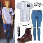 Nia Lovelis: Yankees Jersey Outfit