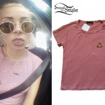 Nina Nesbitt: Red Striped Poop Tee