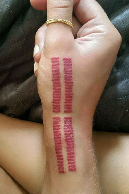 niykee heaton lines side of hand wrist tattoo steal her