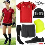 Ruby Rose: Soccer Outfit