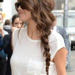 Selena Gomez arrives for The Late Show With David Letterman