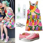 Sherri DuPree-Bemis: Fruit Print Dress