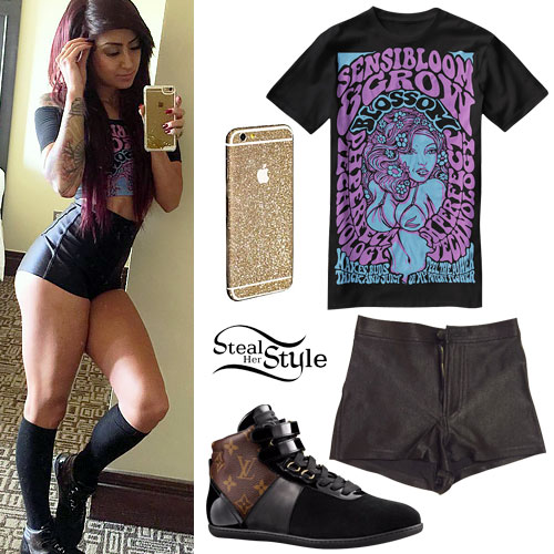 Allison Green: Disco Shorts, Leather Sneakers
