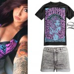 Allison Green: Psychedelic T-shirt