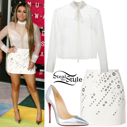 Ally Brooke arriving at the 2015 MTV Video Music Awards at Microsoft Theater in Los Angeles. August 30th, 2015 - photo: PRPhotos
