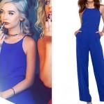 Amanda Steele: Cobalt Blue Jumpsuit
