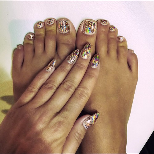 Stiletto Shaped Nails | Steal Her Style |Stiletto Nails Amber Rose
