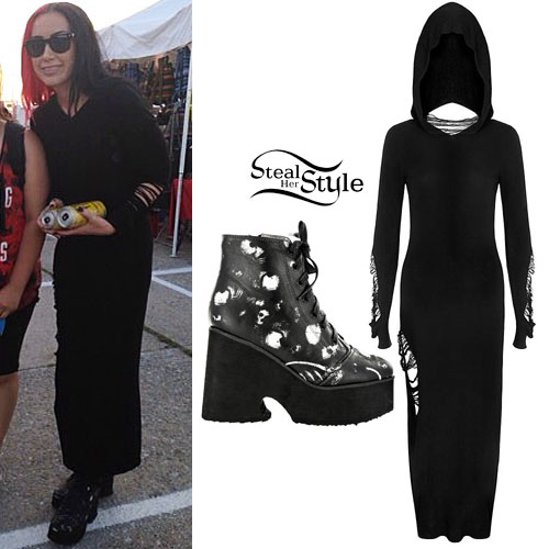 Ash Costello: Hooded Maxi Dress