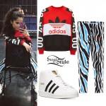 Becky G: Zebra Print Leggings