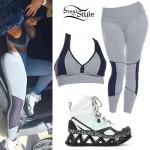Blac Chyna: Zig-Zag Sneakers