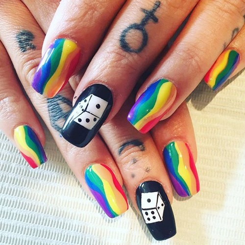 Brooke Candy Nails - Brooke Candy's Nail Polish & Nail Art Steal Her Style