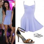 Cierra Ramirez: Bustier Mini Dress