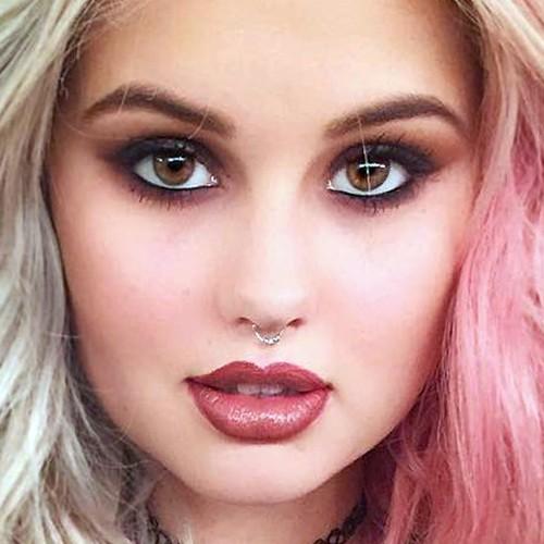 Debby Ryan Makeup: Brown, Charcoal Eyeshadow & Brown Lipstick | Steal