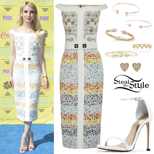 Emma Roberts at the 2015 Teen Choice Awards  at the Galen Center, Los Angeles. August 16th, 2015 - photo: FOX