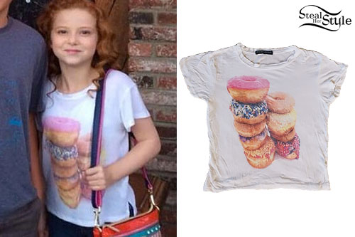 Francesca Capaldi: Donut T-Shirt