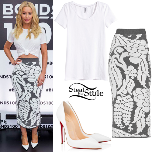 Iggy Azalea at Bonds Celebrate 100 Years Event in Sydney. August 19th, 2015 - photo: AKM-GSI