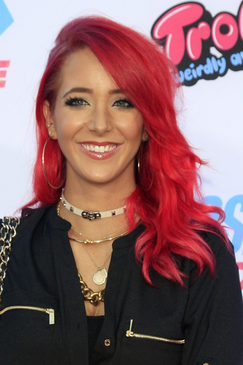jenna marbles hair styles marbles wavy faux sidecut side part hairstyle 3140 | jenna marbles hair 3
