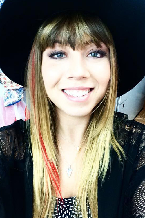 Jennette Mccurdy Straight Medium Brown All Over Highlights