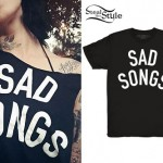 Kat Von D: 'Sad Songs' T-Shirt