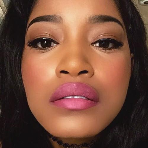 Keke Palmer Makeup Black Eyeshadow Brown Eyeshadow
