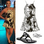Kendall Vertes: Black & White Playsuit