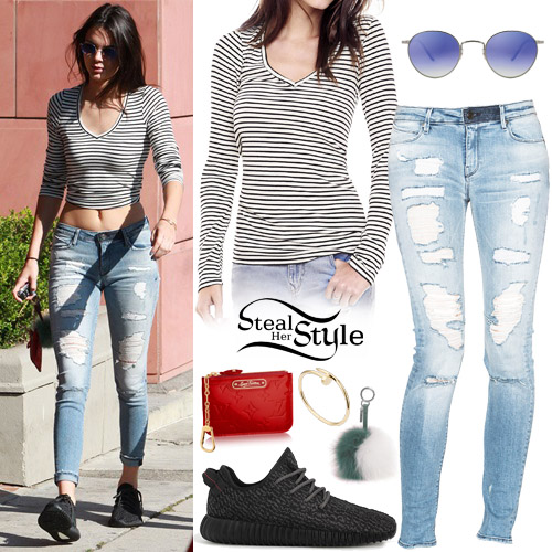 Kendall Jenner Out And About In Beverly Hills August 22th 2015 Photo Akm Gsi