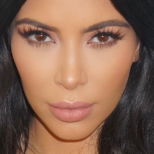 kim kardashian givenchy makeup look Kim Kardashian Cosmetics