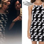 Lindsey Hughes: Triangle Print Dress