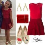 Mackenzie Ziegler: 2015 TCAs Outfit