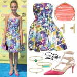 Maddie Ziegler: 2015 Teen Choice Awards Outfit