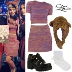 Melanie Martinez: Multicolored Sweater Set