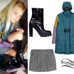 Nell Tiger Free: Colorblock Raincoat