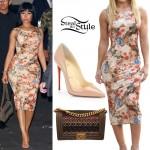 Nicki Minaj leaving 1 OAK Nightclub in West Hollywood. August 28th, 2015 - photo: AKM-GSI