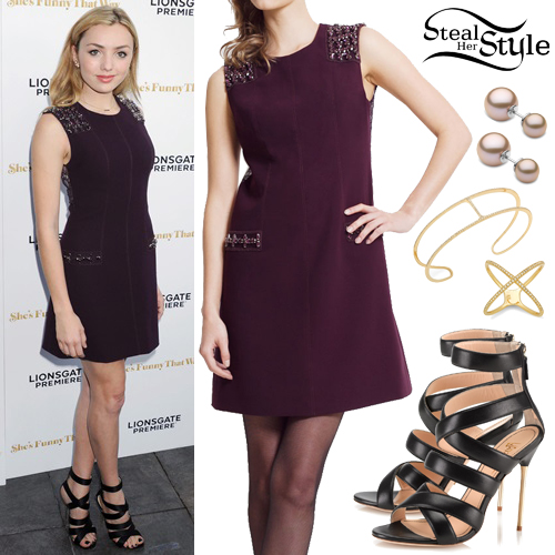 Peyton List at the Premiere Of Lionsgate Premiere's 'She's Funny That Way' at Harmony Gold in LA. August 19th, 2015 - photo: PacificCoastNews