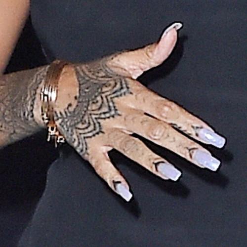 Rihannas Nail Polish Nail Art Steal Her Style Page 2