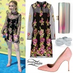 Sabrina Carpenter: 2015 TCAs Outfit