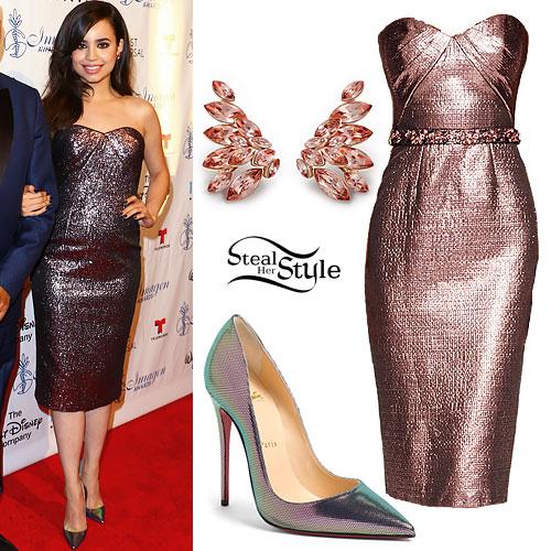 Sofia Carson: 2015 Imagen Awards Outfit