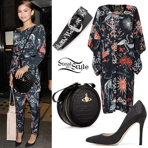 7deab9a5c9695 Zendaya: Vivienne Westwood Outfit | Steal Her Style