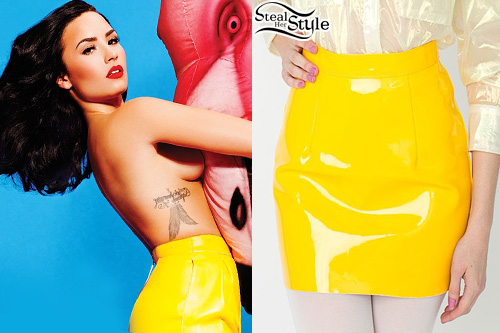 Demi Lovato for Complex Magazine's October 2015 Issue - photo: lovatopictures
