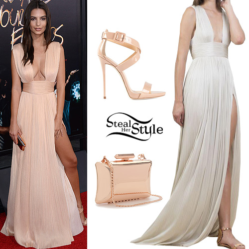 """Emily Ratajkowski at the """"We Are Your Friends"""" Los Angeles Premiere, August 20th, 2015 - photo: Fame Flynet"""