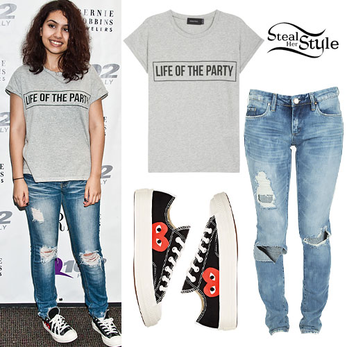 Alessia Cara: Party Tee, Heart Sneakers