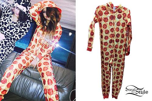 Becky G: Pizza Hooded Onesie