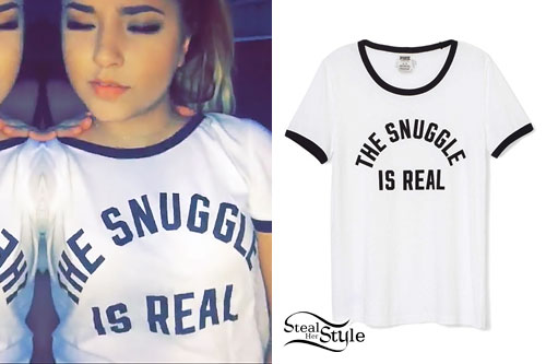 Becky G: 'The Snuggle Is Real' Tee